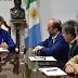 PEPPO RECIBIÓ A REPRESENTANTE DE IEASA Y GARANTIZÓ LA PROVISIÓN DE GAS PARA EL CHACO
