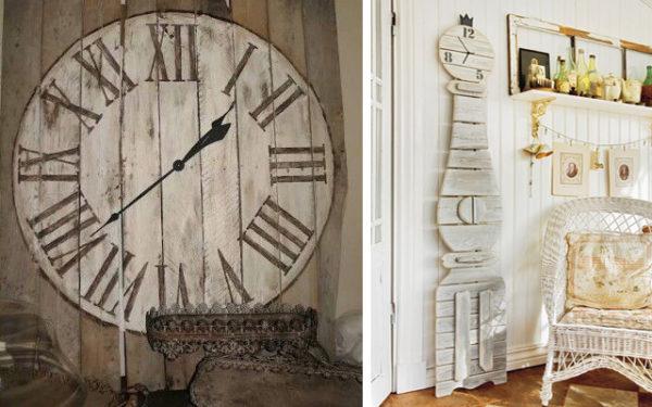 Marzua decorar con relojes for Decoracion en madera para paredes