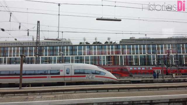 Trens da Alemanha
