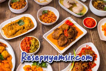 Rekomendasi Resep Makanan Padang  yang Perlu Dicoba
