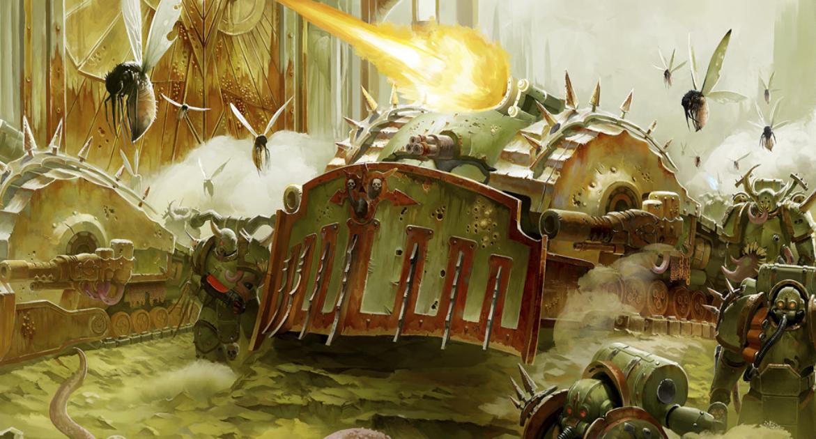 Faeit 212: Death Guard Codex- Plagueburst Crawler Datasheet