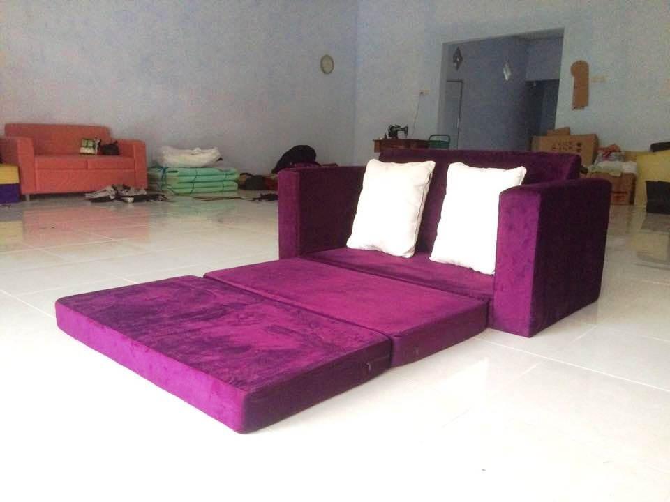 Foto Sofa Bed Minimalis untuk Santai