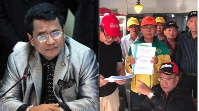 Temui Hotman Paris, Para Pedagang Kecil Pasar Atom Surabaya Teriakkan 'Kami Minta Keadilan'