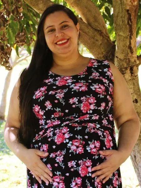 Professora grávida de 8 meses, morre vítima da covid-19,