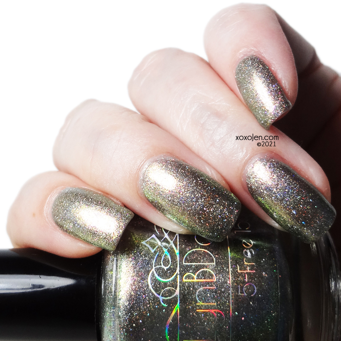 xoxoJen's swatch of LynB Designs: I'm Not Over it for Polished Gamers Box