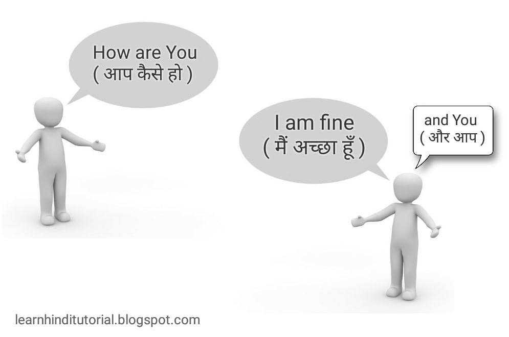 How are you Meaning in hindi with Reply Answer - Learn Hindi