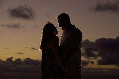 Hawaii Sunset Wedding