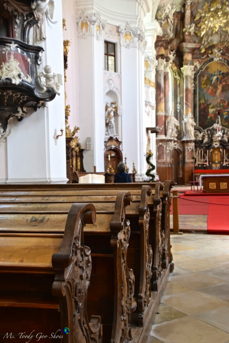 Engelszell Abbey, Austria | Ms. Toody Goo Shoes #austria #danuberivercruise #engelhartszell #durnstein