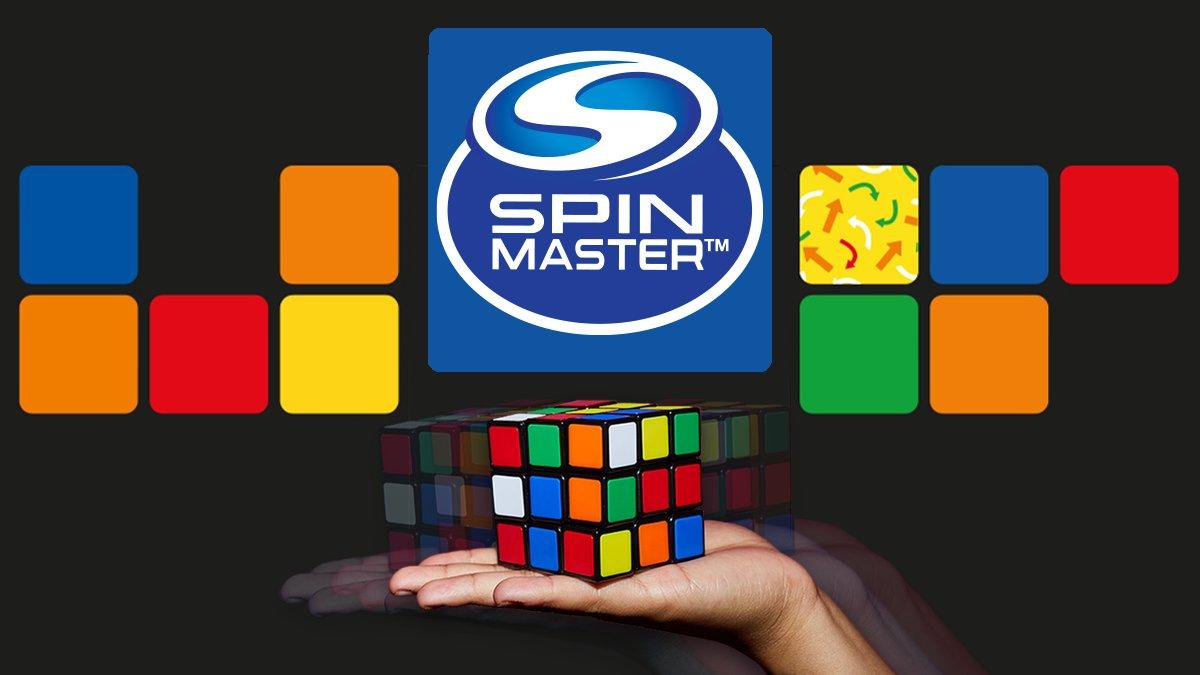 Spin Master akuisisi brand mainan rubik Rubik's Ltd