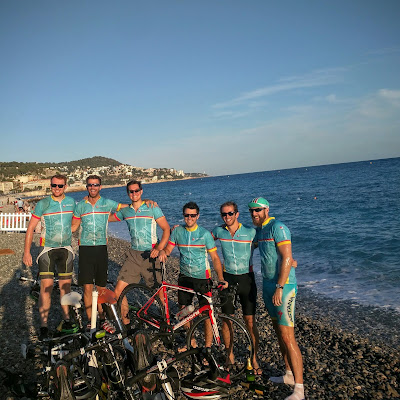 beaches in Nice full carbon road bike rental shop cycling France