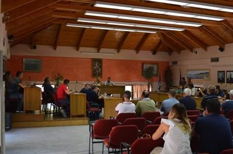 Άτυπη σύσκεψη που πραγματοποιήθηκε στο Δημαρχείο  Στυλίδας
