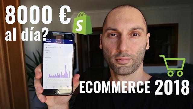 Cómo Ganar 8 000 Euros Al Día Usando Shopify El Cómo De Las Cosas