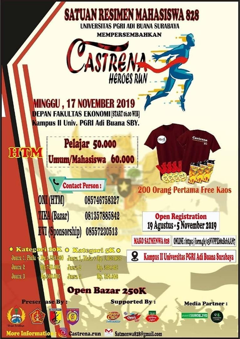 Castrena Run • 2019