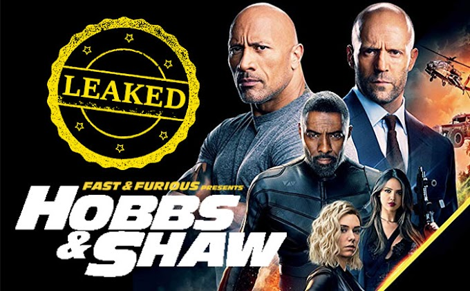 Hobbs and Shaw full movie leaked online by Tamilrockers