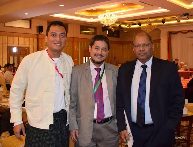Dr. Mahendra P Lama in Myanmar Energy Forum