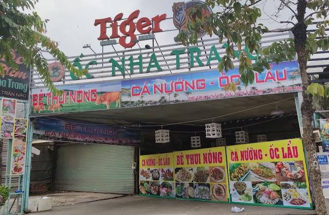 Địa chỉ quán Ốc đêm Nha Trang: 185 Đường Trần Não, Bình An, Quận 2