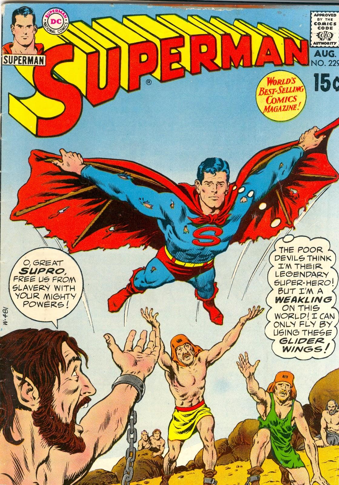 Superman Comic Book Cover Art : Retrospace classic superman comic covers