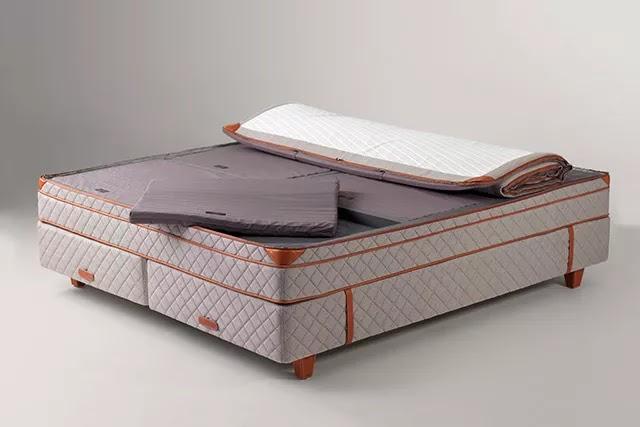 1926 yılından beri yatak üreten İsveçli Duxiana, patentli Paskal Kaset Sistemi sayesinde, kişiye özel uyku konforu sunar.