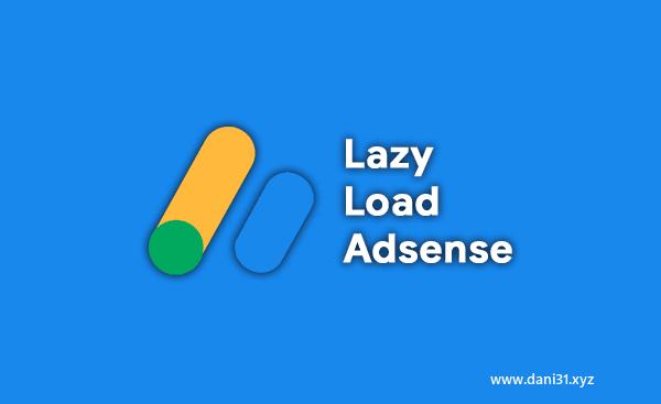 Cara Memasang Lazy Load AdSense dengan Auto Ads di Blogs