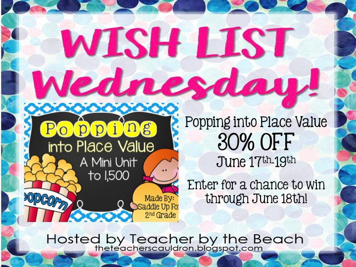 Wishlist Wednesday Popping into Place Value - Saddle up for Second - place value unit