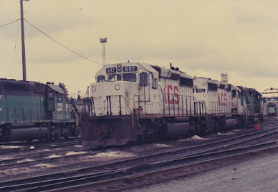 Kansas City Southern SD40-2 687