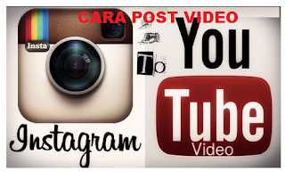 Cara Posting Video YouTube ke Instagram