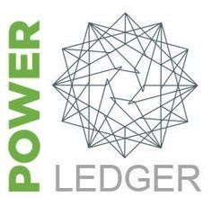 Power Ledger Cryptocurrency Logo Image