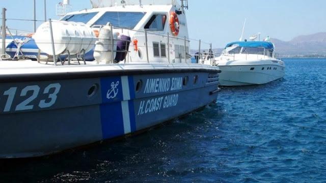 Ακυβέρνητο σκάφος στον Σαρωνικό με 4 επιβάτες