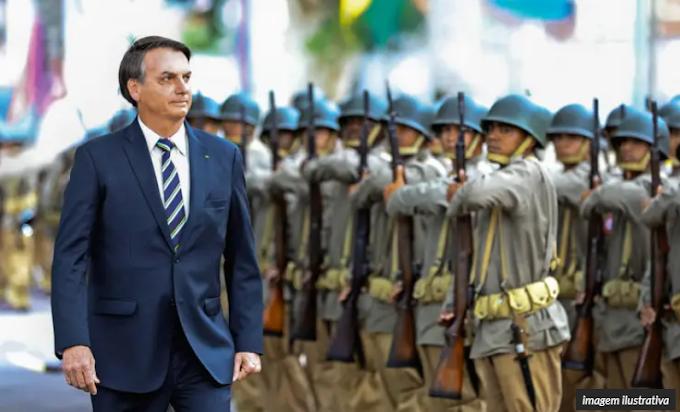 Centenas de militares assinam manifesto de repúdio contra cúpulas do Legislativo e Judiciário