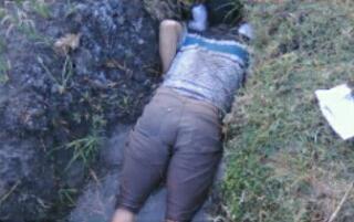 Slamet Minolyo meninggal Tengkurap di Saluran Irigasi Sawah