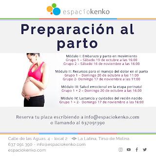 preparacion al parto madris