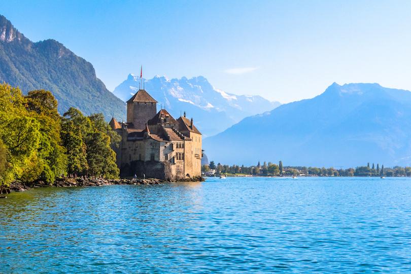 اجمل القلاع في سويسرا