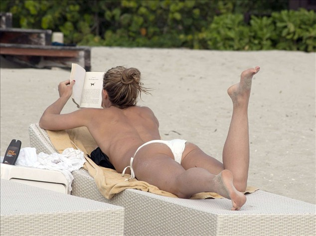 Gemma Atkinson on the Beach