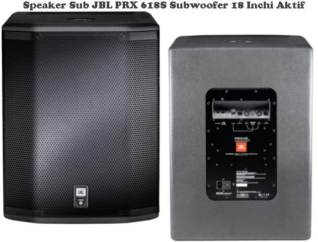 Harga Speaker Sub JBL PRX 618S 18 Inchi Aktif