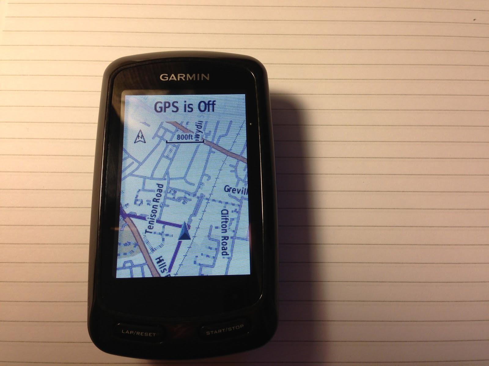 Test: Garmin our site