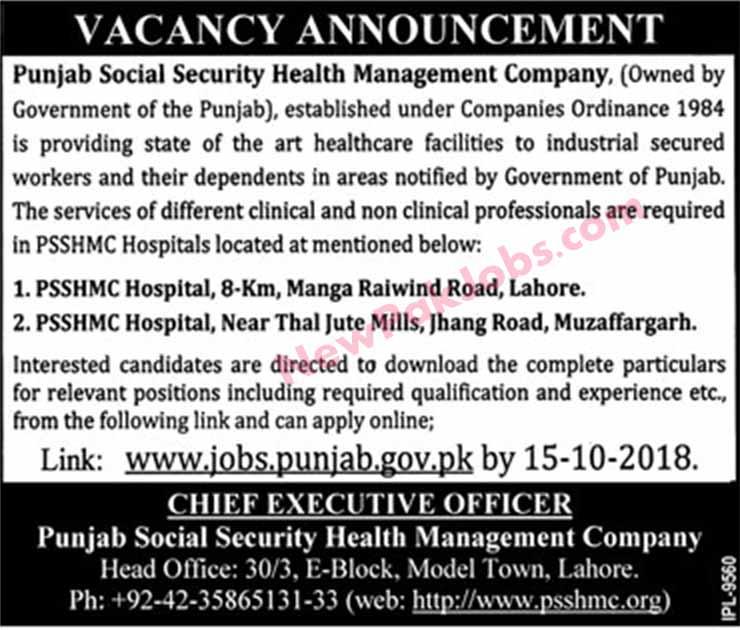 PSSHMC-28-Sep-2018-Jobs