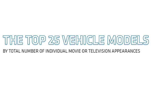 The Top 25 Vehicle Models