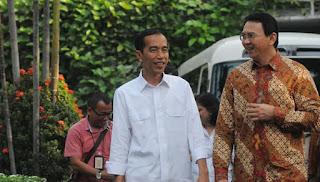 Jawaban Jokowi Tentang Gosip Ahok Dijadikan Menteri