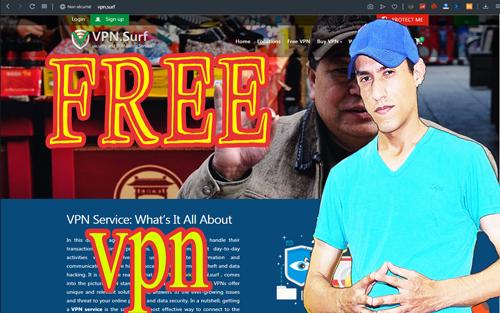 أفضل تطبيق VPN لتسريع الانترنت وفتح المواقع المحجوبة vpn.surf