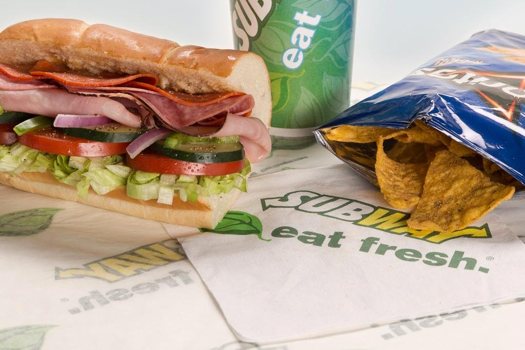 Subway Menu and Price List Latest US 2017