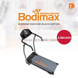 Bodimax Running Machine Black Edition