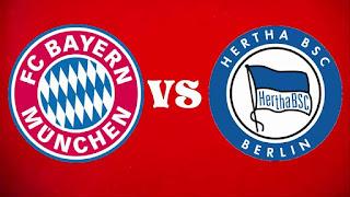 اون لاين مشاهدة مباراة بايرن ميونيخ وهيرتا برلين بث مباشر 16-8-2019 الدوري الالماني اليوم بدون تقطيع