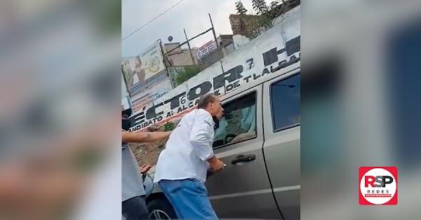 Otra vez: Graban al actor Alfredo Adame insultando a automovilista que lo rechazó: «Mejоr vete a **ingar a tu madr*, cabr**n»