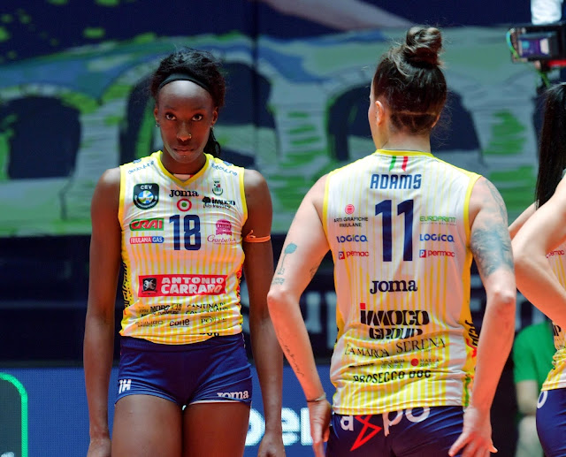 Paola Egonu se destacou com 40 pontos na final da Champions League