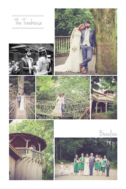 Treehouse Beaulieu Wedding
