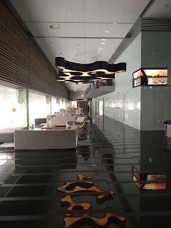 Interior parador hotel Atlantico
