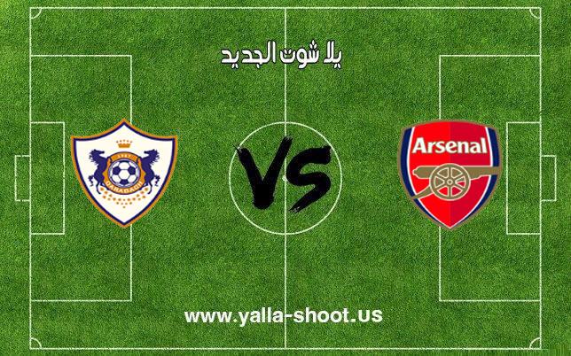 اهداف مباراة آرسنال وقره باغ اليوم 13-12-2018 الدوري الأوروبي