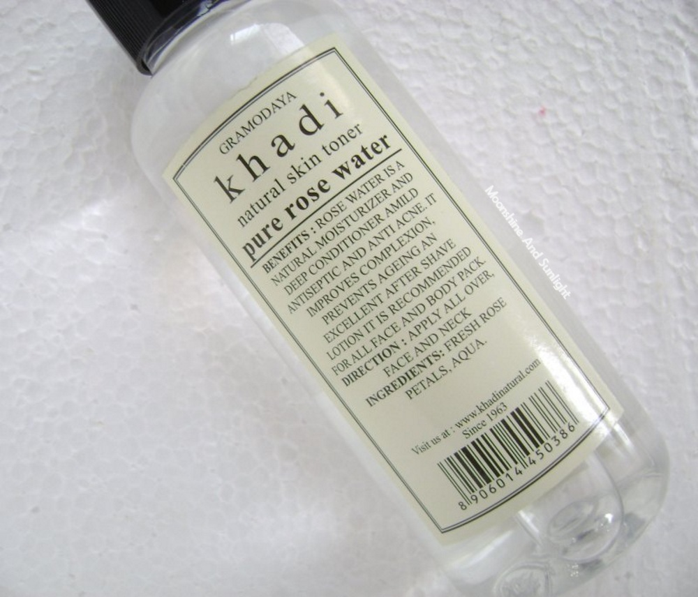 Khadi Pure Rose Water Review