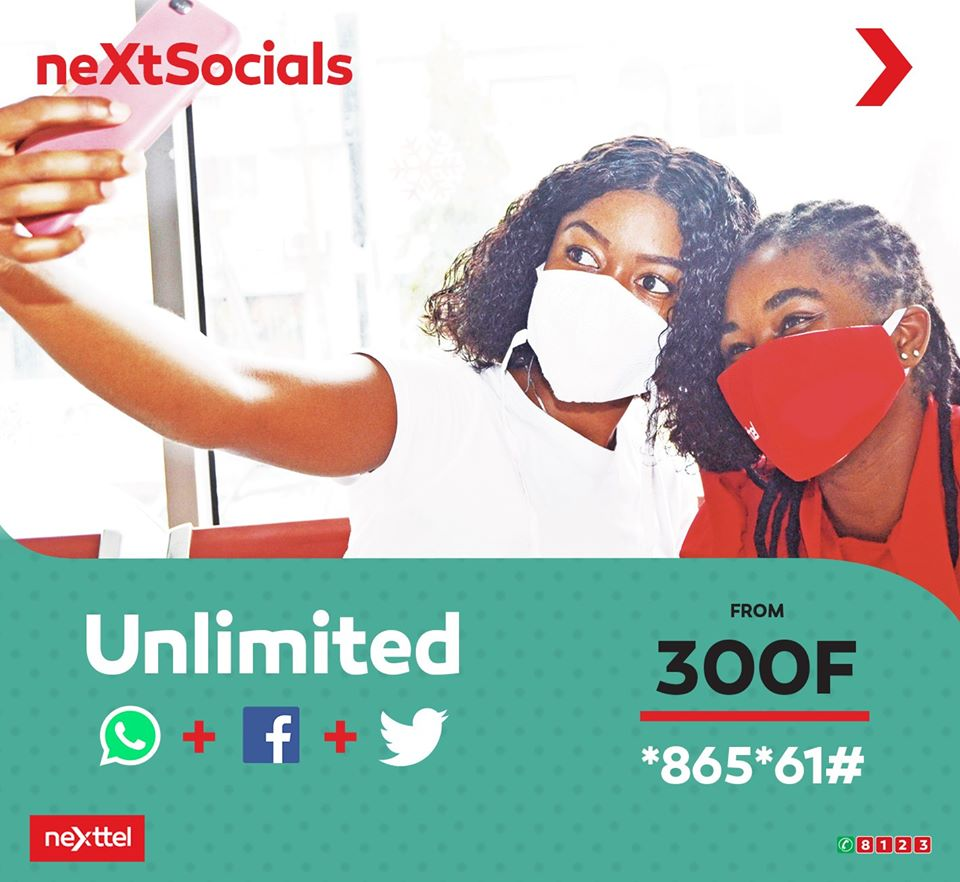 Nexttel Social media data plan