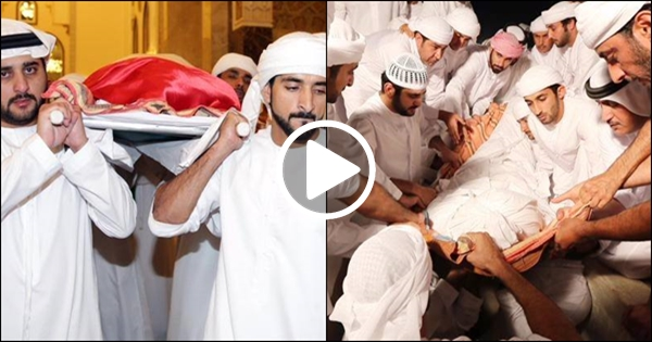 Funeral Services Of 33 Years Old Prince Of Dubai Sheikh